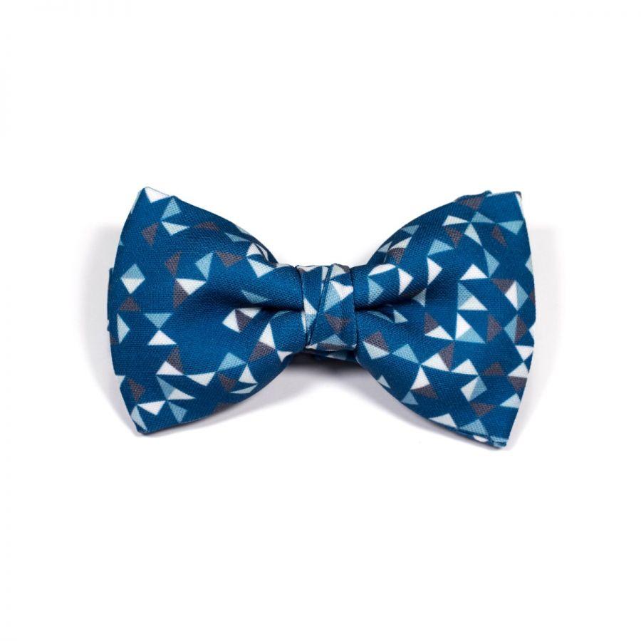 Purple 3angle Classic Bow Tie