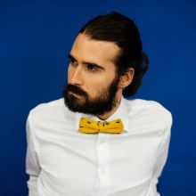 Colton Yellow Classic Bow Tie
