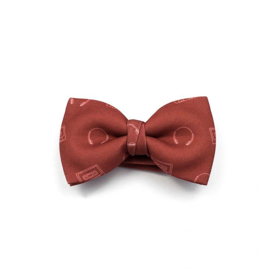 Music Cassette Classic Bow Tie