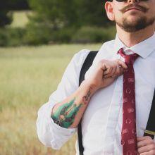 Music Cassette Necktie