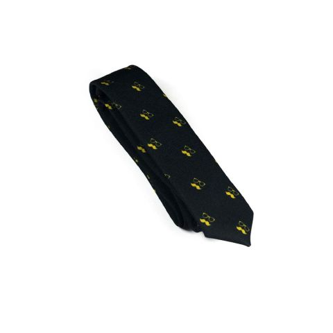 Colton Black Necktie