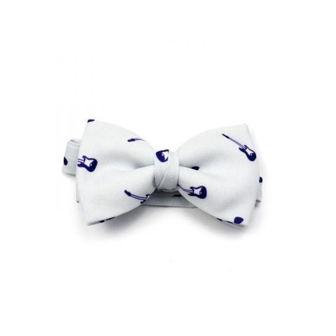 Musical Guitar Classic Bow Tie