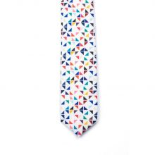Corbata Colton 3angle White