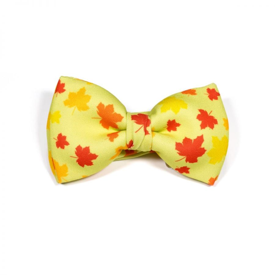 Wild Maple Leaf Classic Bow Tie