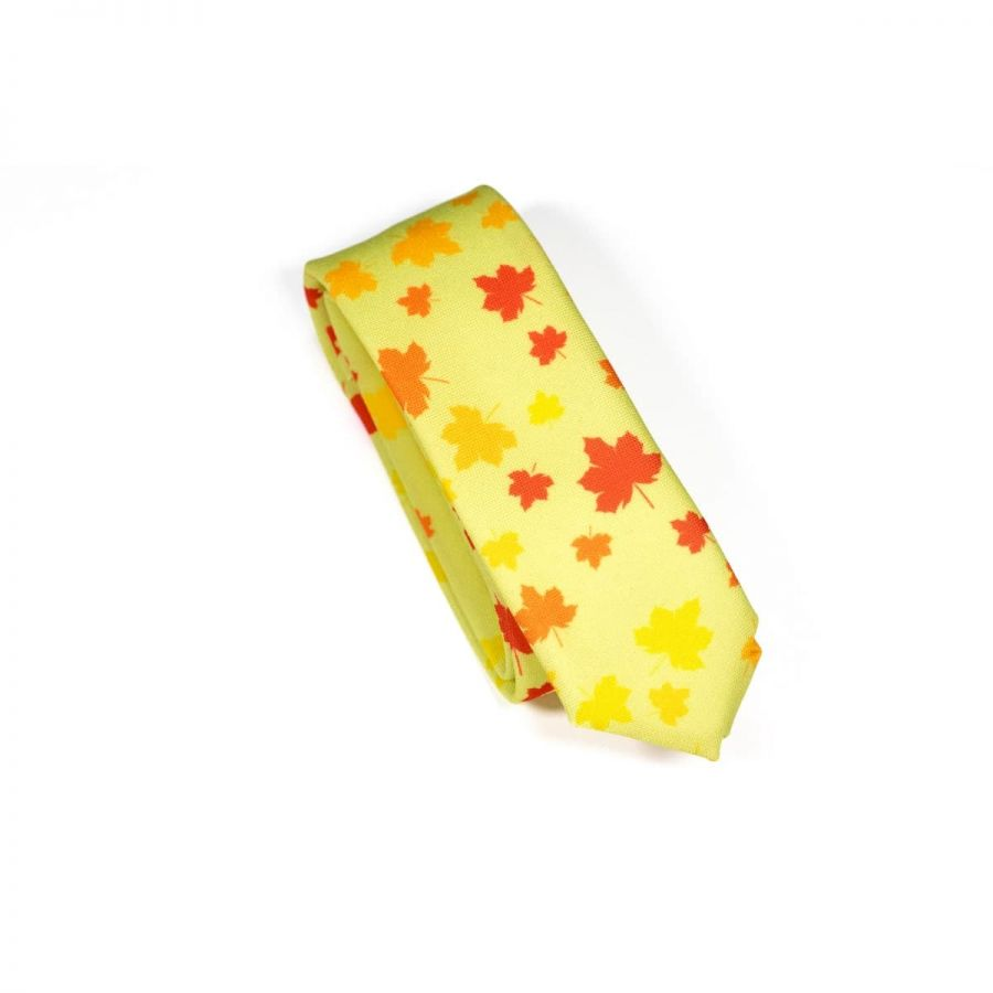 Wild Maple Leaf Necktie