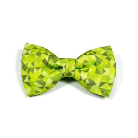 Dark Green 3angle Classic Bow Tie