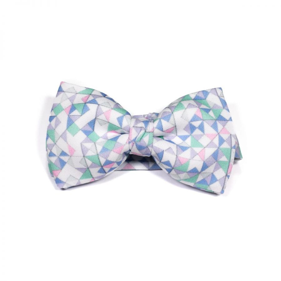 Green 3angle Classic Bow Tie