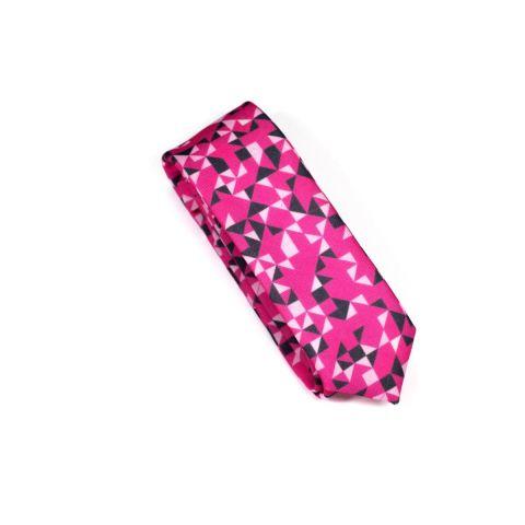 Corbata Colton 3angle Dark Pink