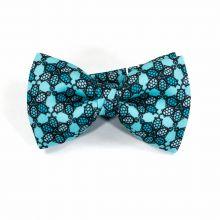 Wild Turtle Silver Classic Bow Tie