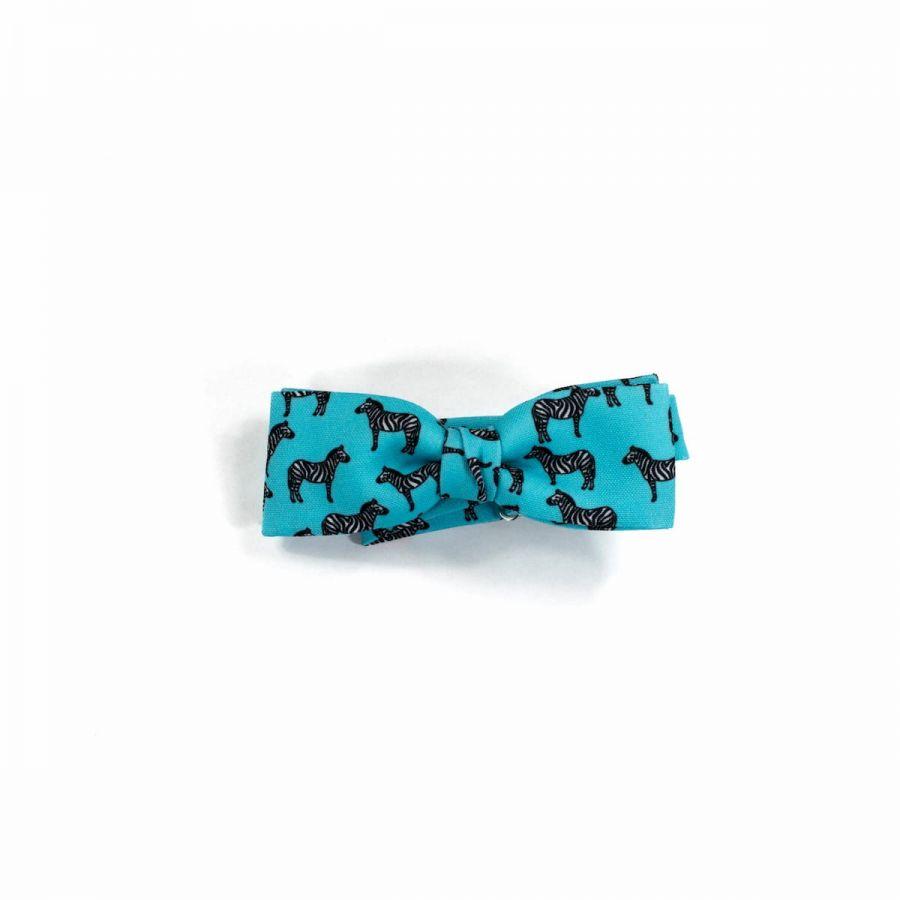 Zebra unisex Bow Tie by Veronica Perona