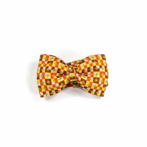 Colton Circles Red Classic Bow Tie