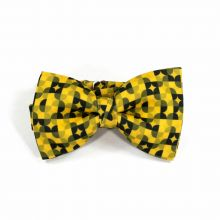 Colton Circles Gold Classic Bow Tie