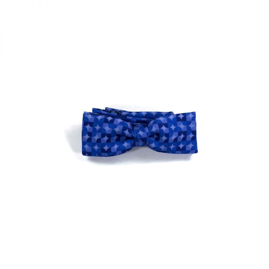Colton Circles Purple unisex Bow Tie